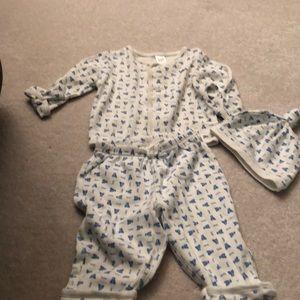 Baby gap 3 piece set bears 3-6 months